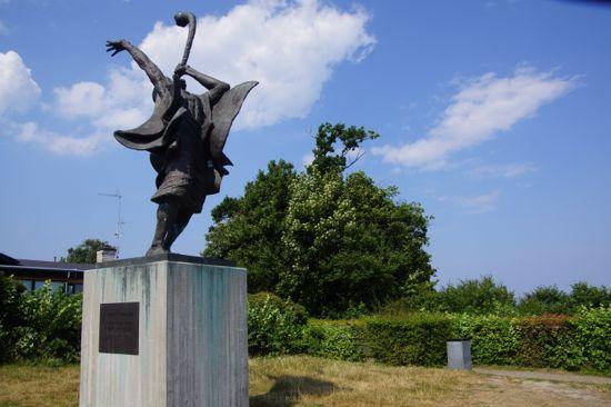 Skulpturen Teka Bashofar Gadol