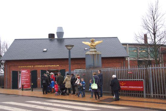 Danmarks Jernbanemuseum i Odense