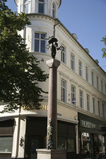 Hyrdinden og Skorstenfejren i Odense