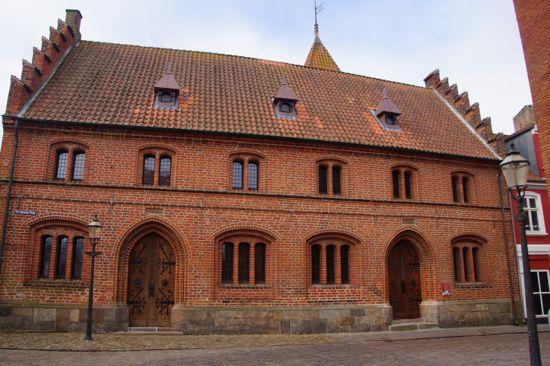 Det gamle rådhus i Ribe