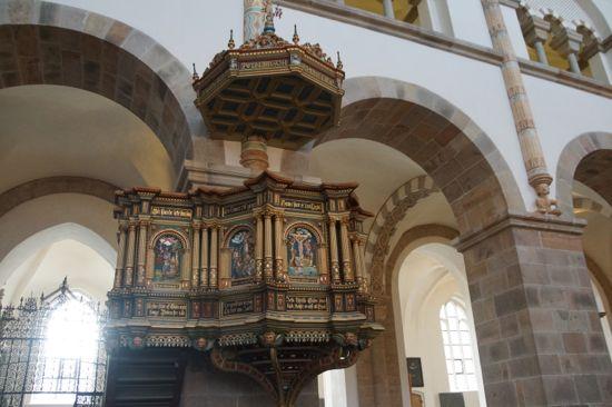 Prædikestolen i Ribe Domkirke