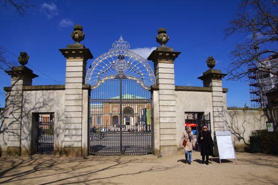 Dronningeporten indgang til Kongens Have