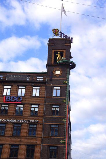 Richsbygningen på Rådhuspladsen