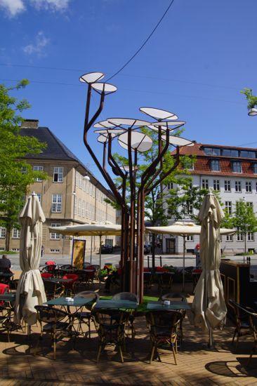 Interaktive træ, Dantes Plads
