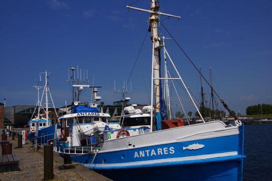 Fiskerbåde i Helsingør