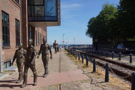 skulpturen værftsarbejdere